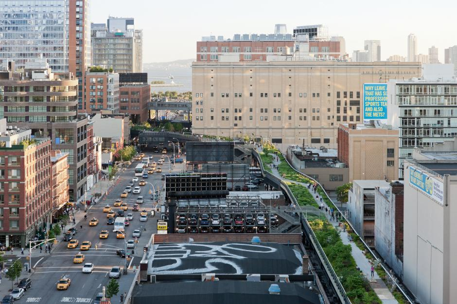 High Line aerial view