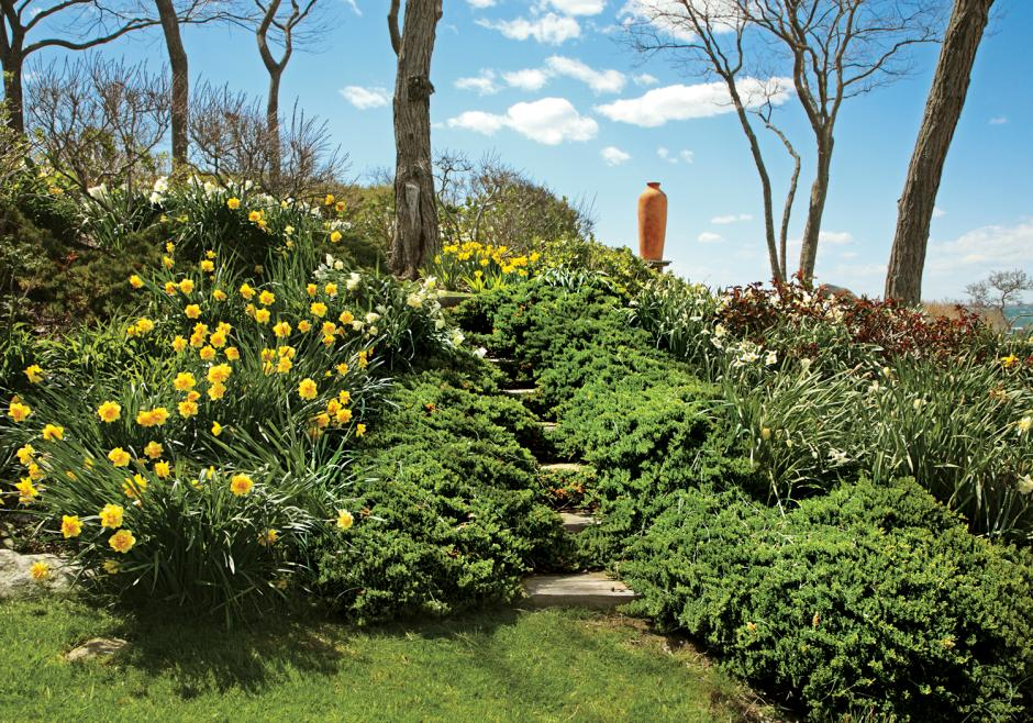 Tom Armstrong's Fishers Island home and garden
