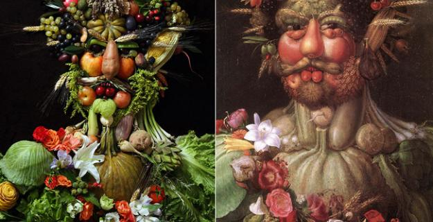 Art & Botany: Surreal Portraits in Fruits & Vegetables