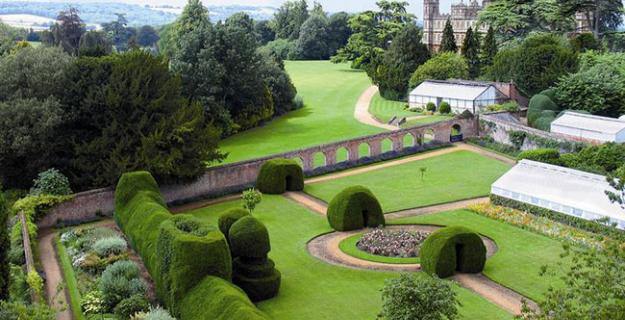 The Gardens of Downton Abbey