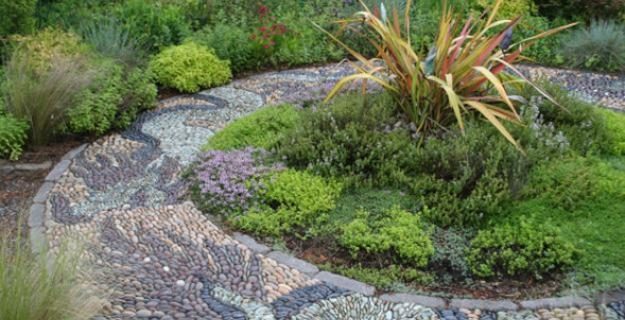 Pebble Mosaic Walkways
