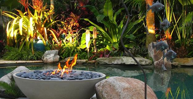 Modern Fire for Outdoor Spaces