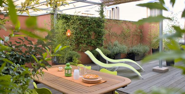 Italy: Green Terrace Roof Garden