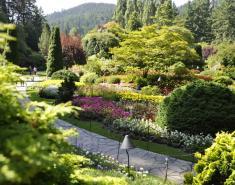 Visiting Butchart Gardens
