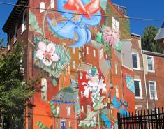 Philadelphia: Nature-Inspired Outdoor Murals