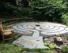 A Garden Labyrinth Becomes a Pathway to Healing