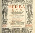 Herbarum vivae, cover