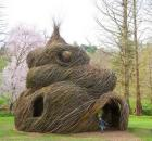Patrick Doughterty tree house