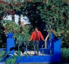 yves saint laurent in garden